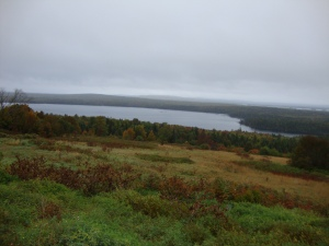 The seemingly endless woods and lakes of Northern Maine.