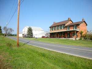 The farmhouse in which my father was born, along with his 6 brothers and 5 sisters.