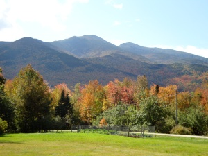 Mt. Washington in the White Mountains of New Hampshire.