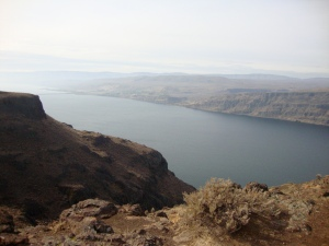 The Columbia River nears Ellensburg in eastern Washington.